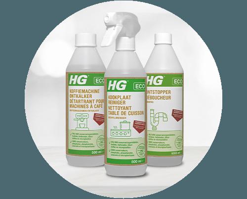 HG ECO-producten zijn verkrijgbaar bij Blokker en op blokker.nl