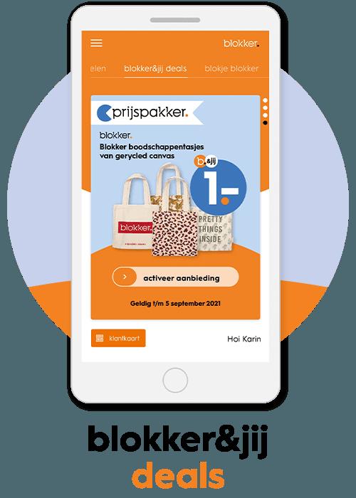 blokker app profiteer van deals